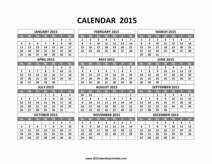 One Page 12 Month Calendar Beautiful 2015 12 Month Calendar E Page Aztec Line