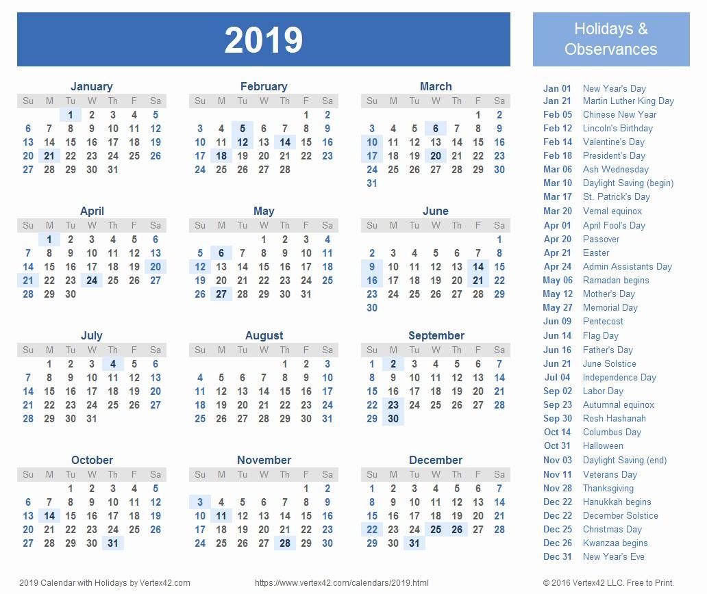 One Page 12 Month Calendar Beautiful 2019 Calendar Excel Download Blank Calendar 2019 12 Months