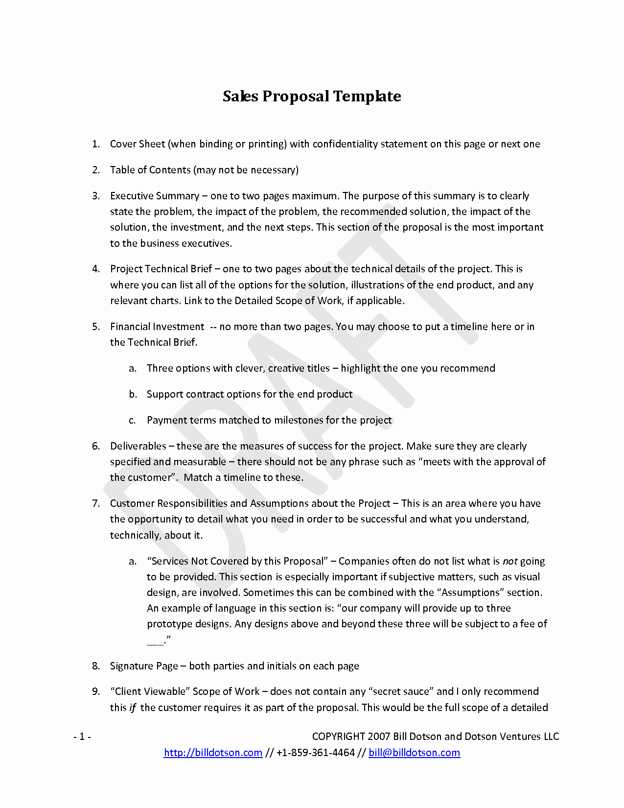 One Page Executive Summary Example Luxury Best S Of 1 Page Sales Proposal Template Example