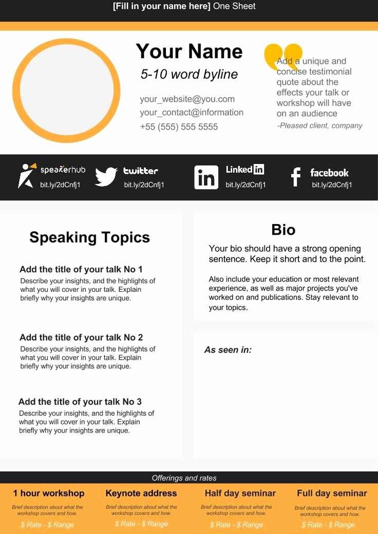 One Page Fact Sheet Template Inspirational 47 Best E Sheets Images On Pinterest