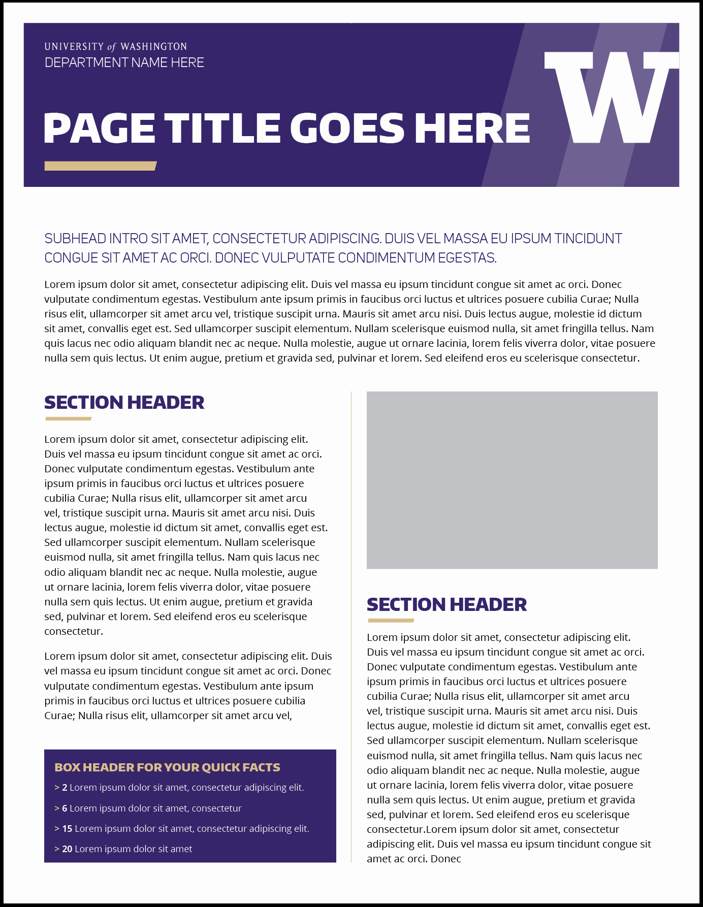 One Page Fact Sheet Template Unique Fact Sheet