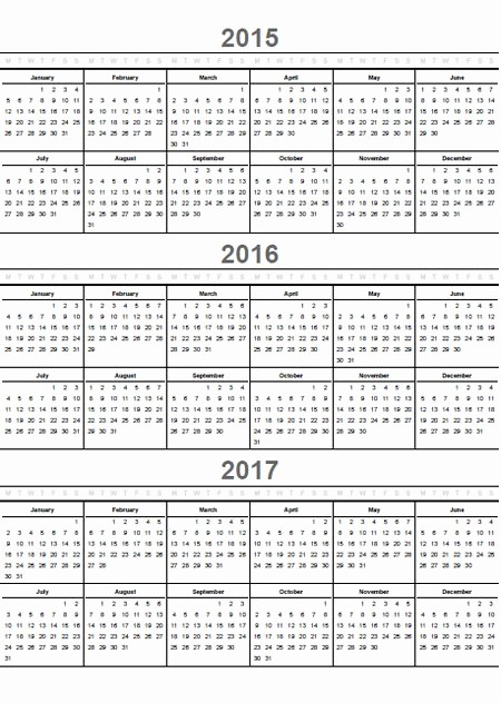 One Page Yearly Calendar 2015 Best Of 9 Best Of Ly Printable Yearly Calendar 2015 2016