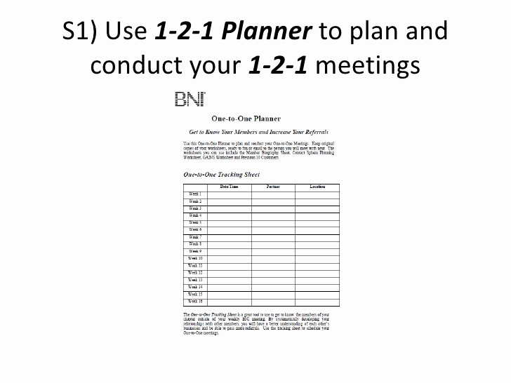 One to One Meeting Templates Elegant 5 Steps to Effective 1 2 1 Meeting