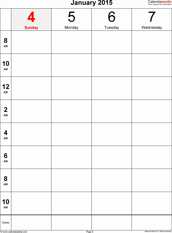 One Week Calendar with Hours Elegant E Week Calendar Template with Hours – Calendar Printable
