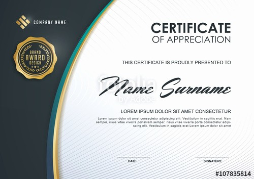 Online Certificate Maker with Logo Awesome 20 Modern Certificate Templates
