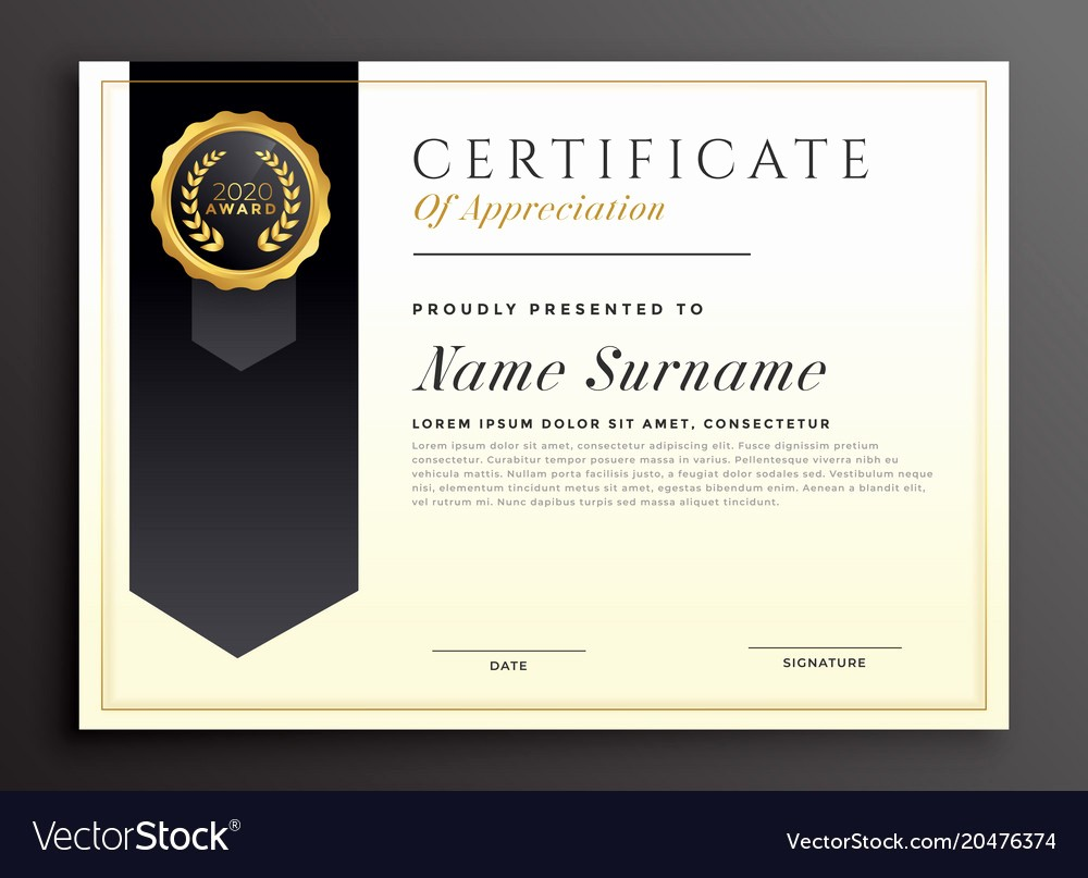 certificate template maker