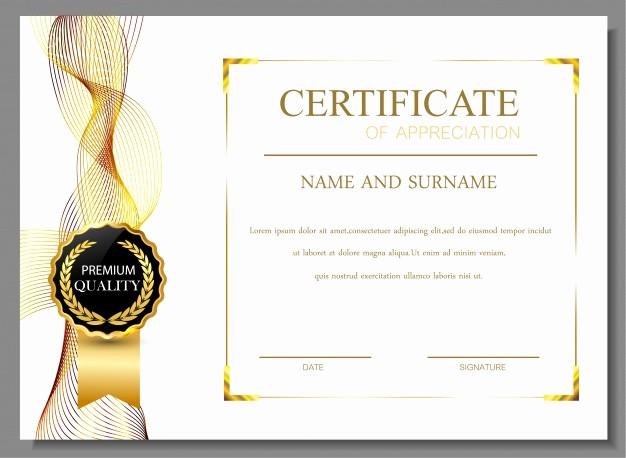 Online Certificate Maker with Logo Beautiful Gratitud