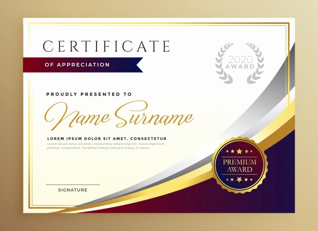 Online Certificate Maker with Logo New Fondo Reconocimiento