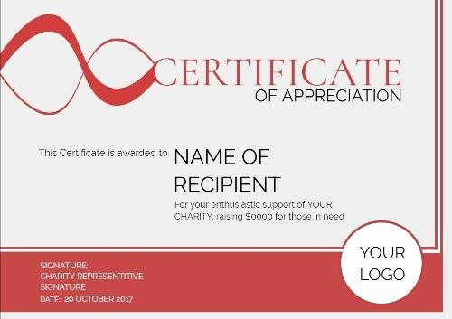 Online Certificate Maker with Logo Unique 100 Certificate Appreciation Templates to Choose From