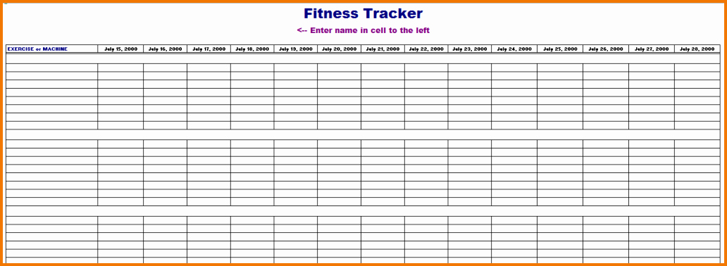 Online Food and Exercise Journal Luxury 5 Online Workout Log