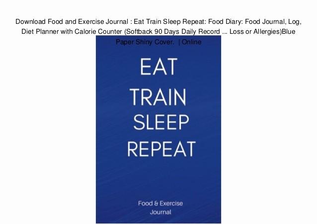 Online Food and Exercise Journal New Online Food Log Gecce Tackletarts