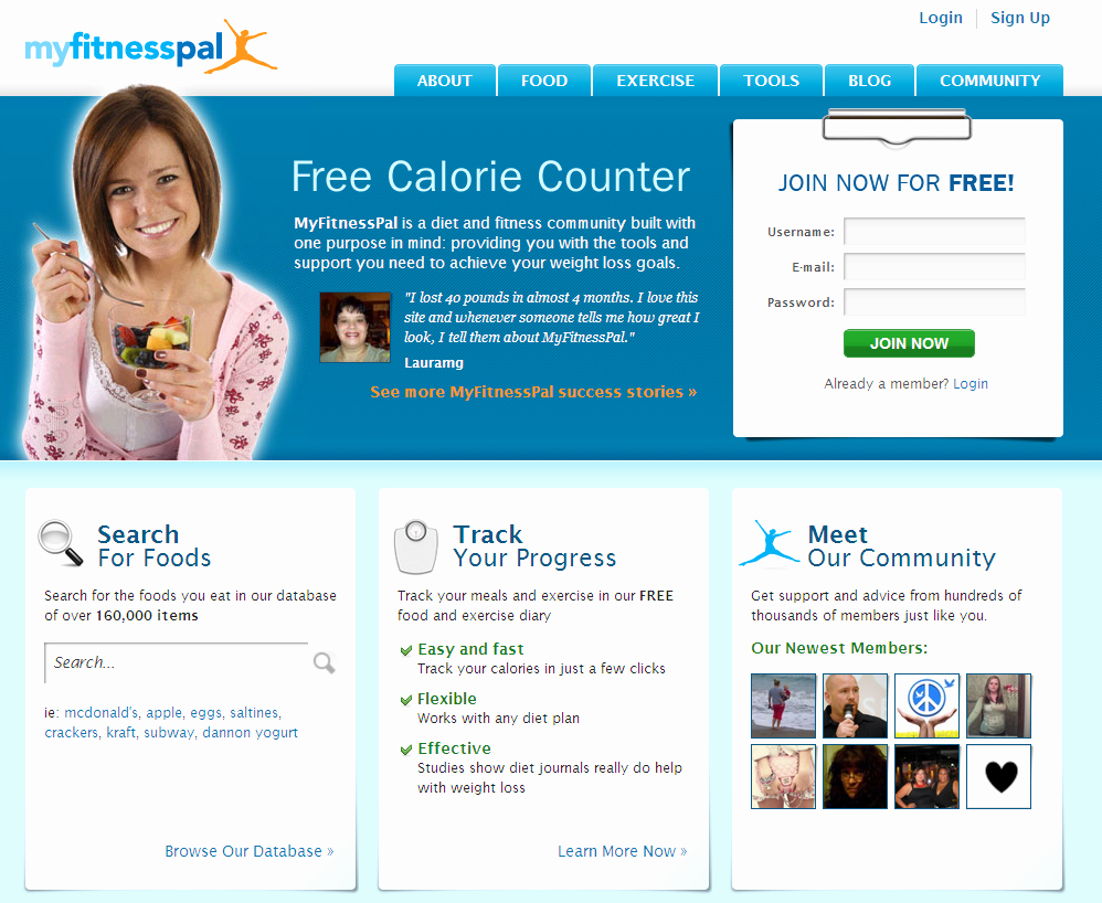 Online Food and Exercise Journal Unique Free Weight Loss Line Food Diary Myfitnesspal