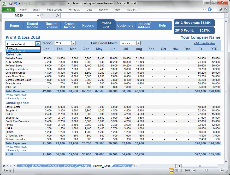 Online Profit and Loss Statement Lovely top 5 Resources to Get Free Profit and Loss Statement
