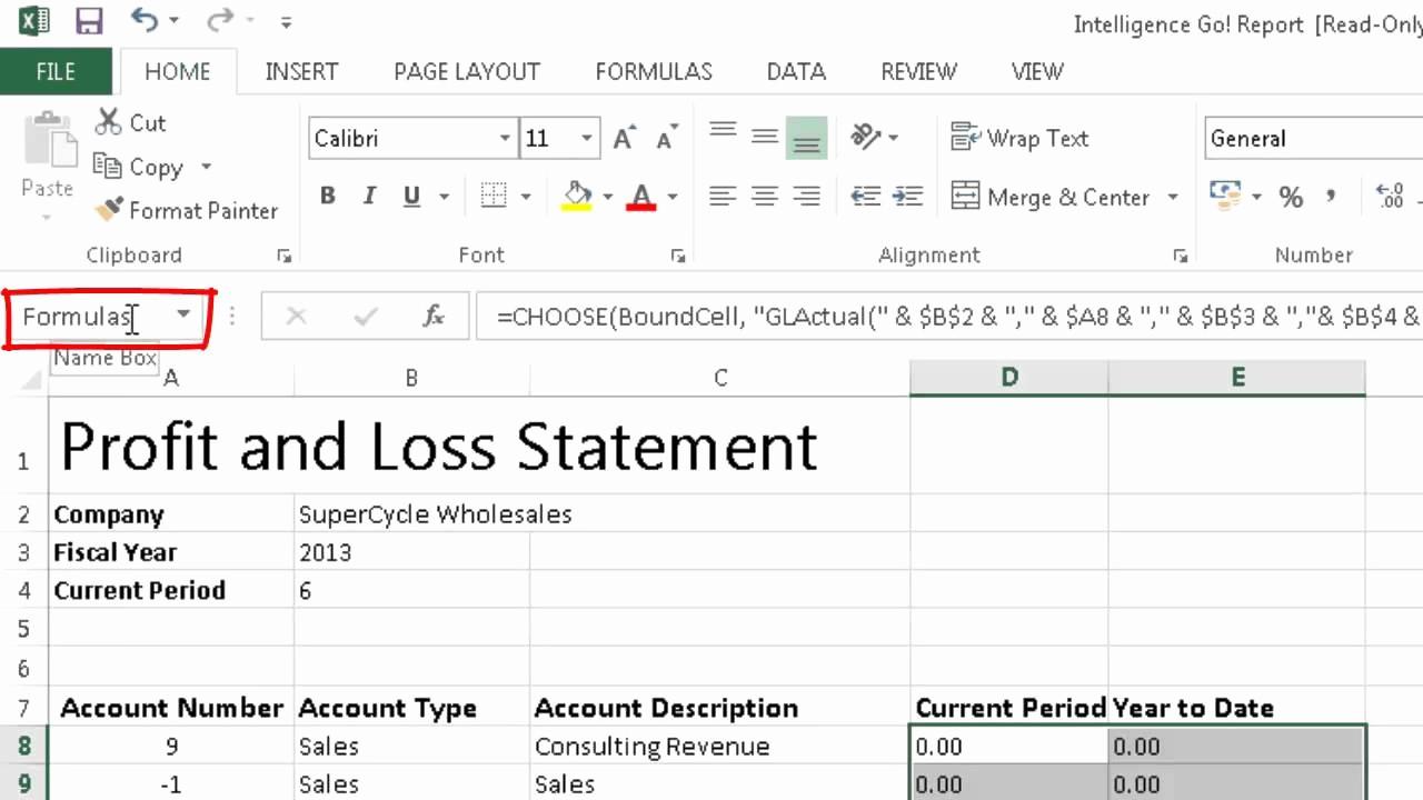 Online Profit and Loss Statement Unique Create A Profit and Loss Statement Line