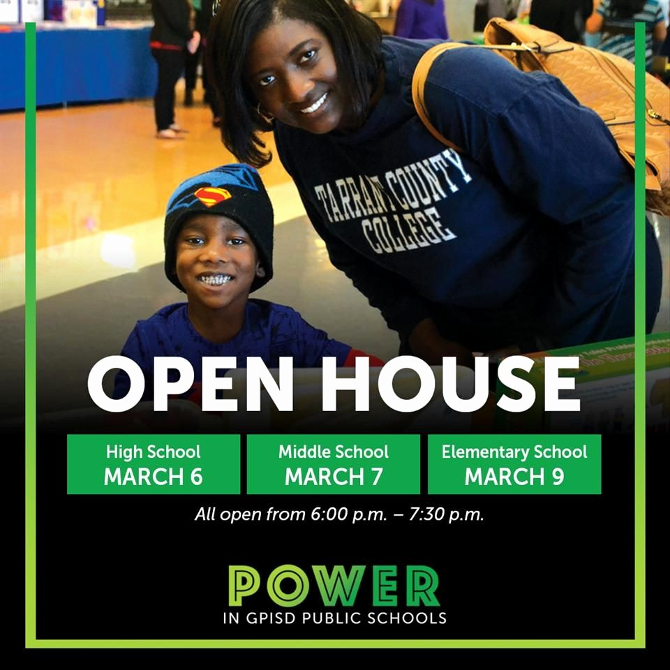 Open House Flyer for School Awesome High School Open House