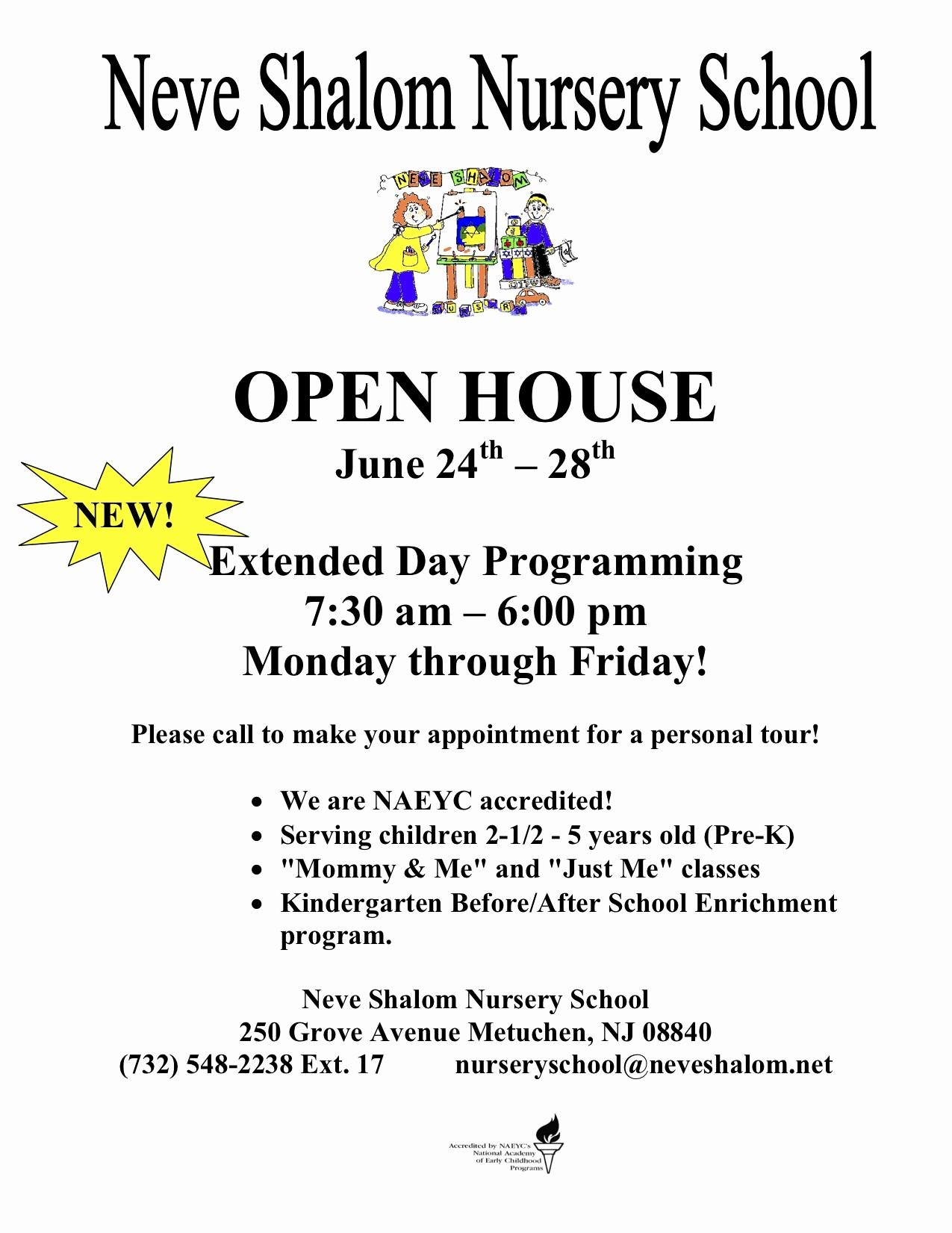 Open House Flyer for School Beautiful School Open House Flyer Template Portablegasgrillweber