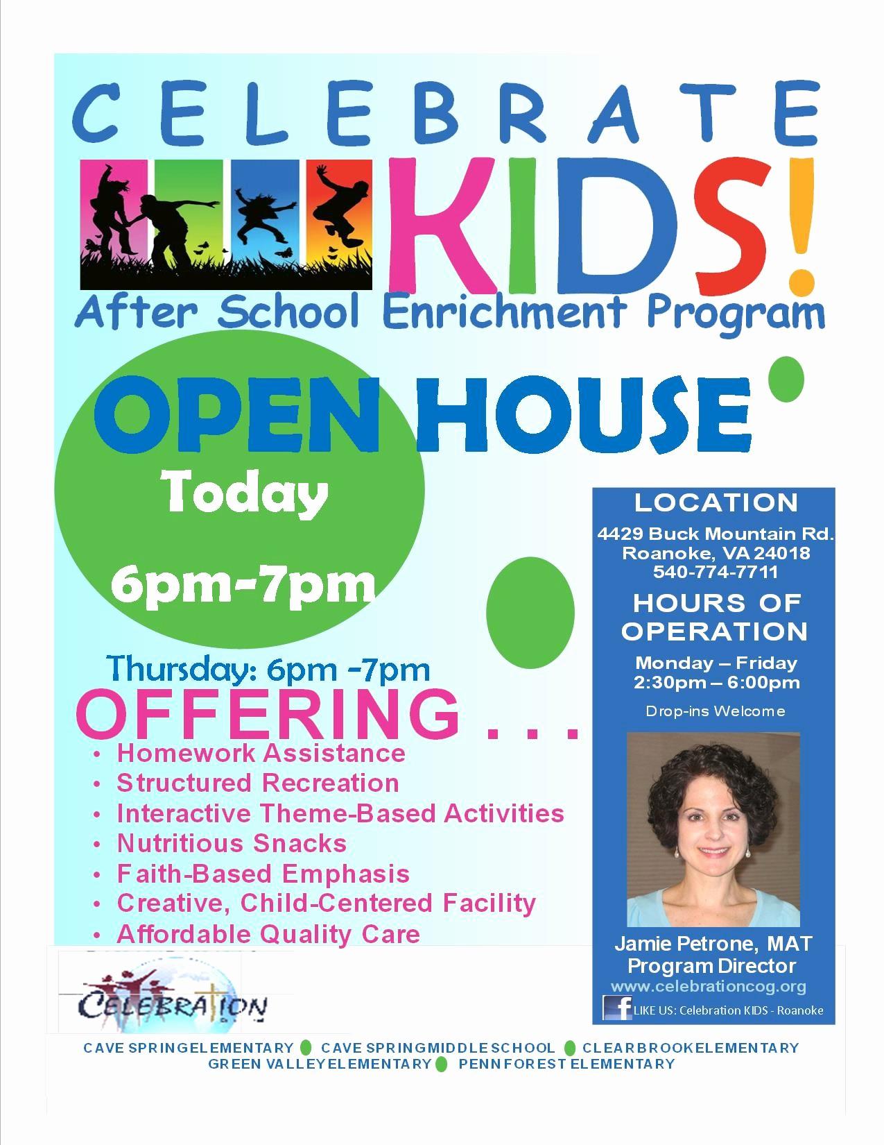 Open House Flyer for School Elegant School Open House Flyer Template Portablegasgrillweber