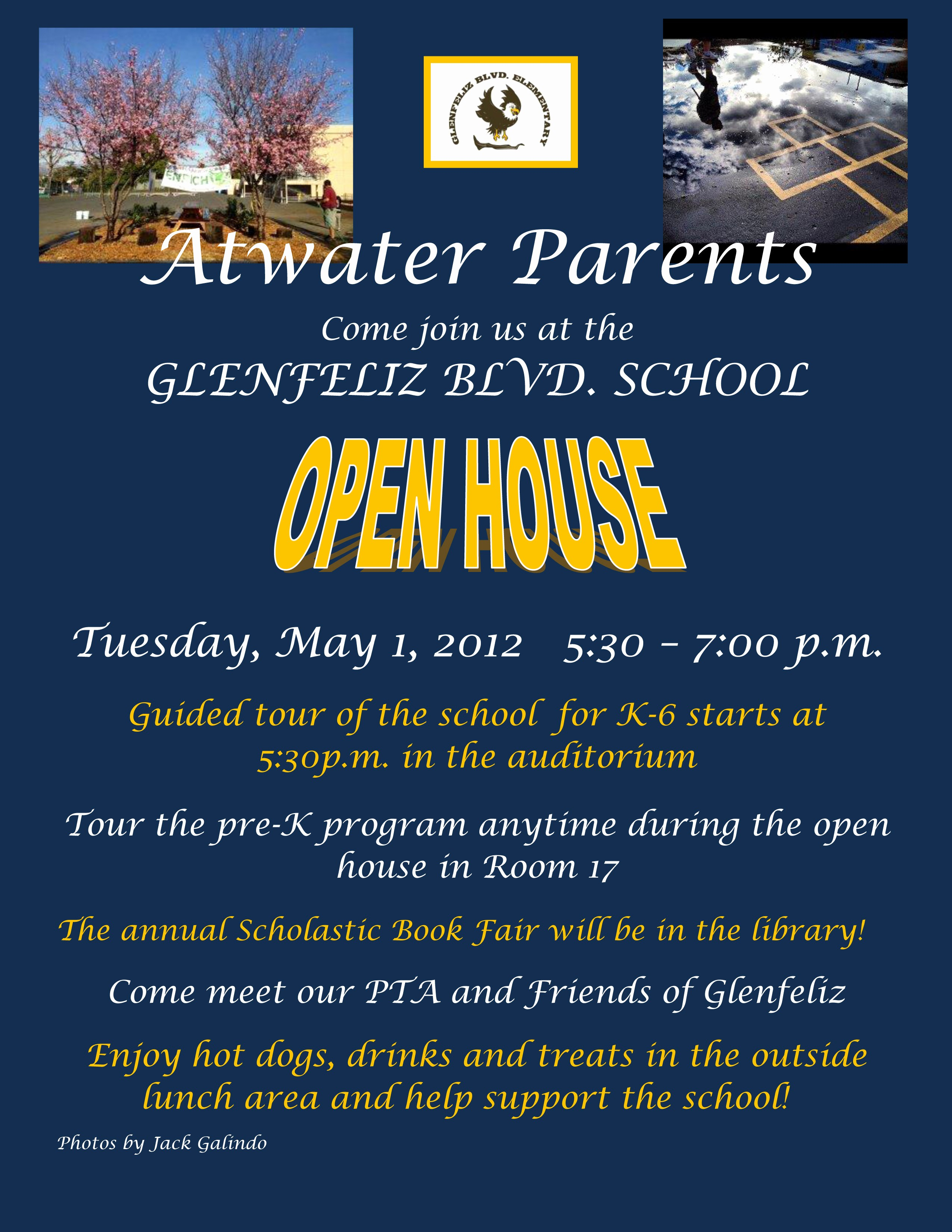 Open House Flyer for School Lovely School tour for Prospective Parents
