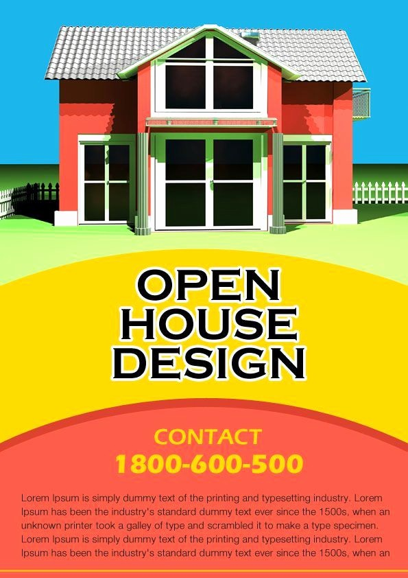 Open House Flyer Template Free Beautiful 34 Best Images About Open House Flyer Ideas On Pinterest