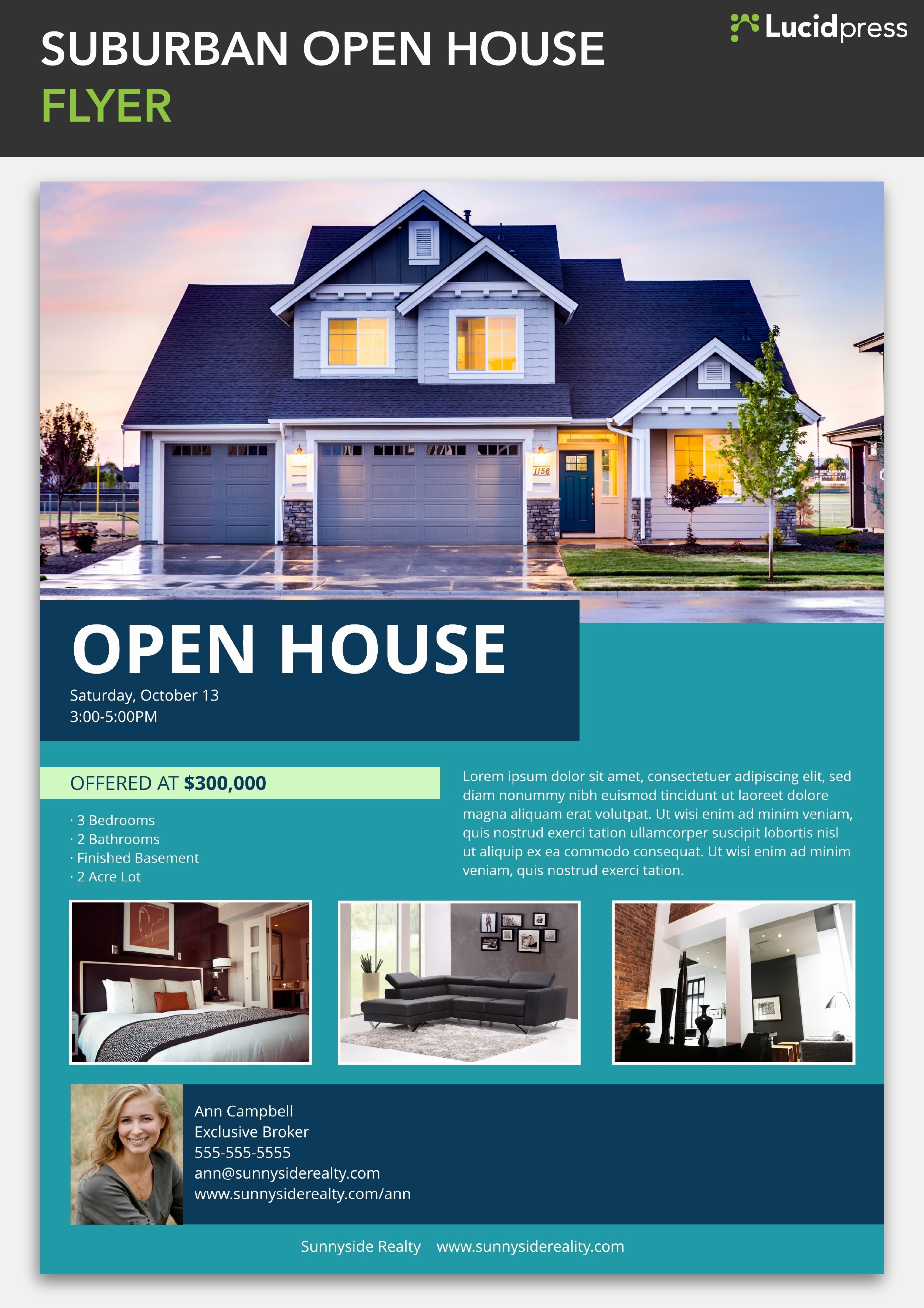 Open House Flyer Template Free Best Of How to Build A social Media Campaign for Real Estate