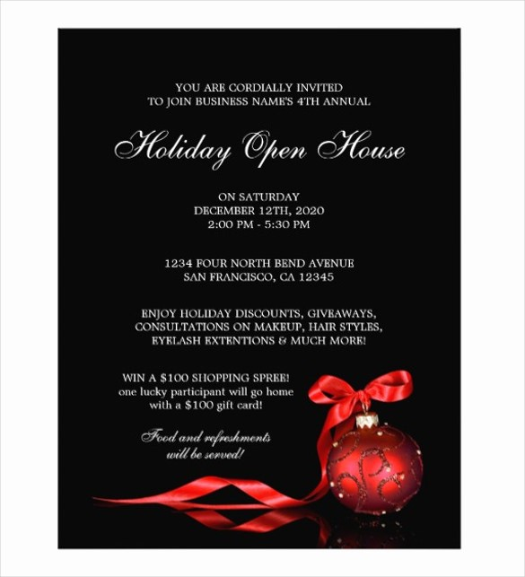 Open House Flyer Template Free New Open House Flyer Templates – 39 Free Psd format Download