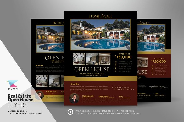 Open House Flyer Template Free Unique Open House Flyer Templates – 39 Free Psd format Download
