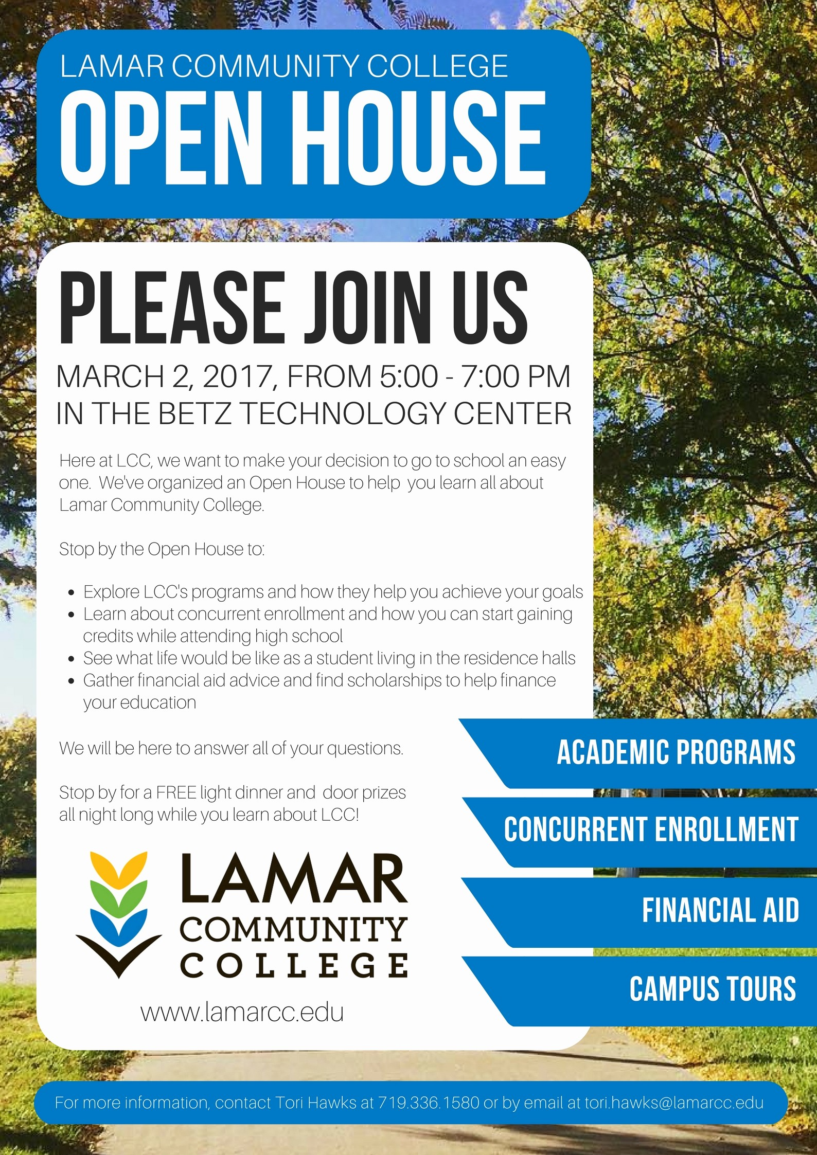 Open House Flyers for School Best Of Lcc Open House Set for March 2 Lamar Cc