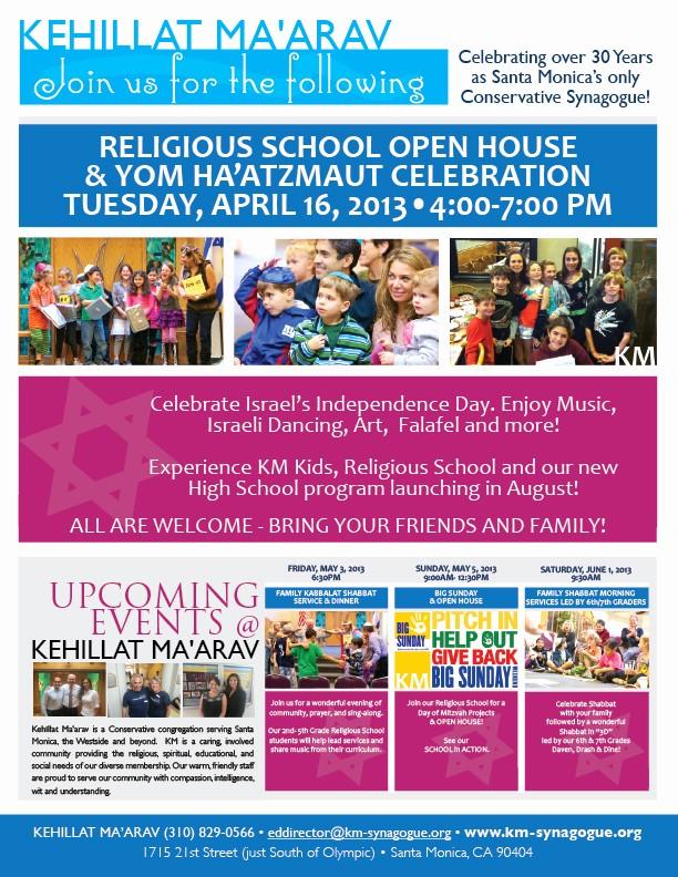 Open House Flyers for School Elegant 7 Best Of Elementary School Open House Flyer