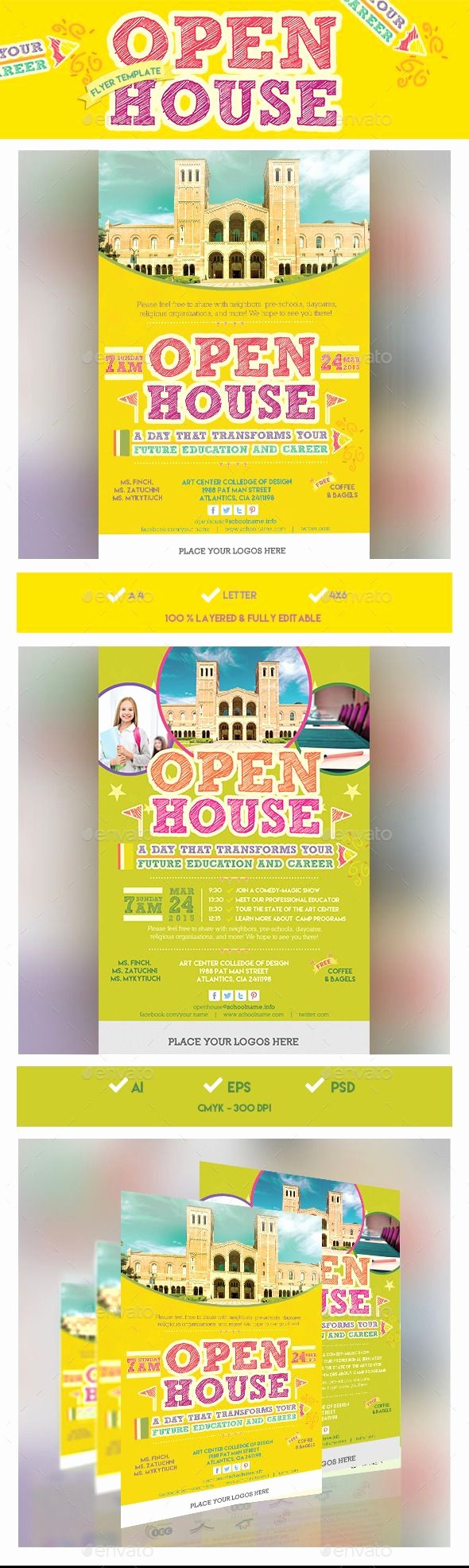 Open House Flyers for School Fresh 1000 Ideas About Open House Invitation On Pinterest