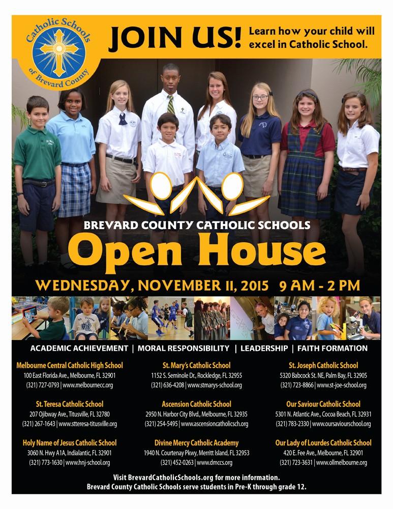 Open House Flyers for School Fresh School Open House Flyer Ktunesound
