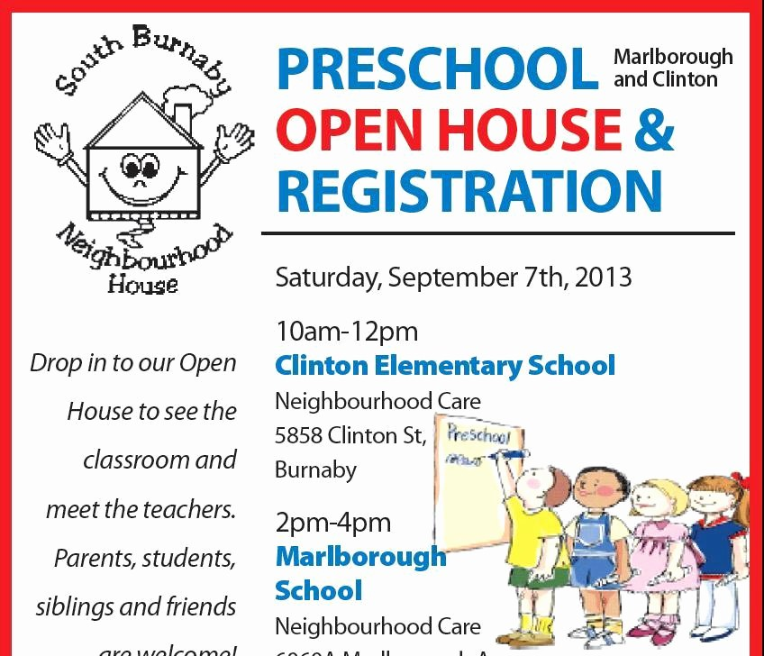 Open House Flyers for School Lovely Flyer Template Category Page 8 Efoza