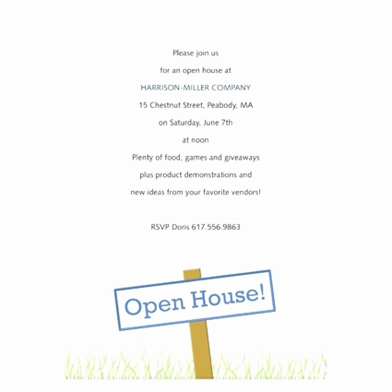 Open House Invitations for Business Awesome Business Open House Invitation Wording Design Templates