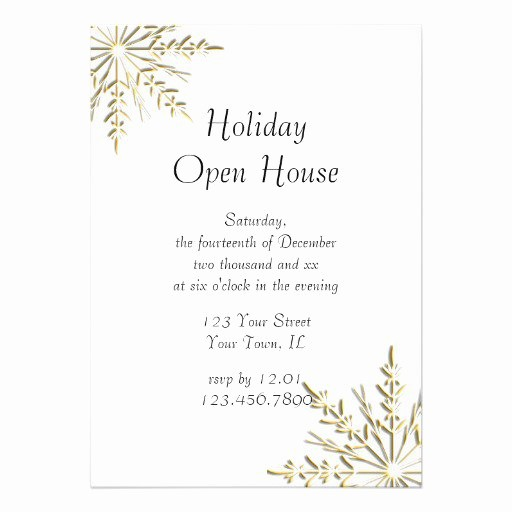 Open House Invitations for Business Awesome Business Open House Invitations