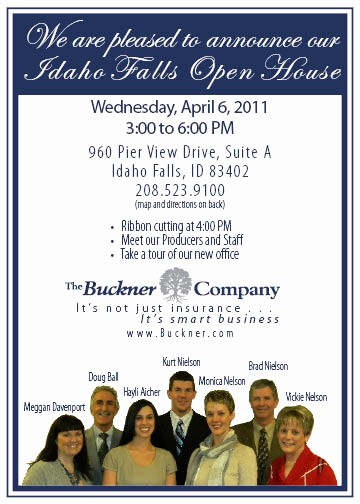 Open House Invitations for Business Beautiful Business Open House Invitations