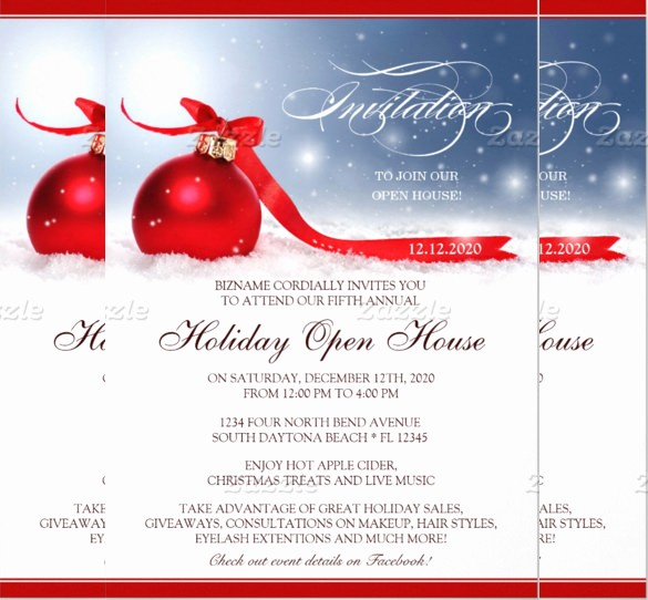 Open House Invitations for Business Fresh 22 Open House Invitation Templates – Free Sample Example
