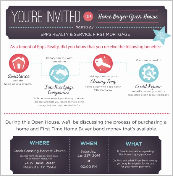 Open House Invitations for Business New 11 Open House Invitation Templates Free Psd Vector Eps