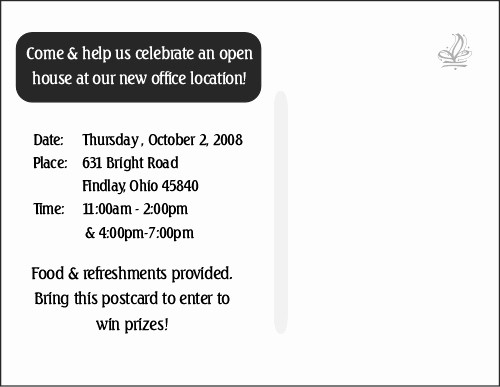 Open House Invitations for Business New Insurance Business Open House Invitations Help Plans