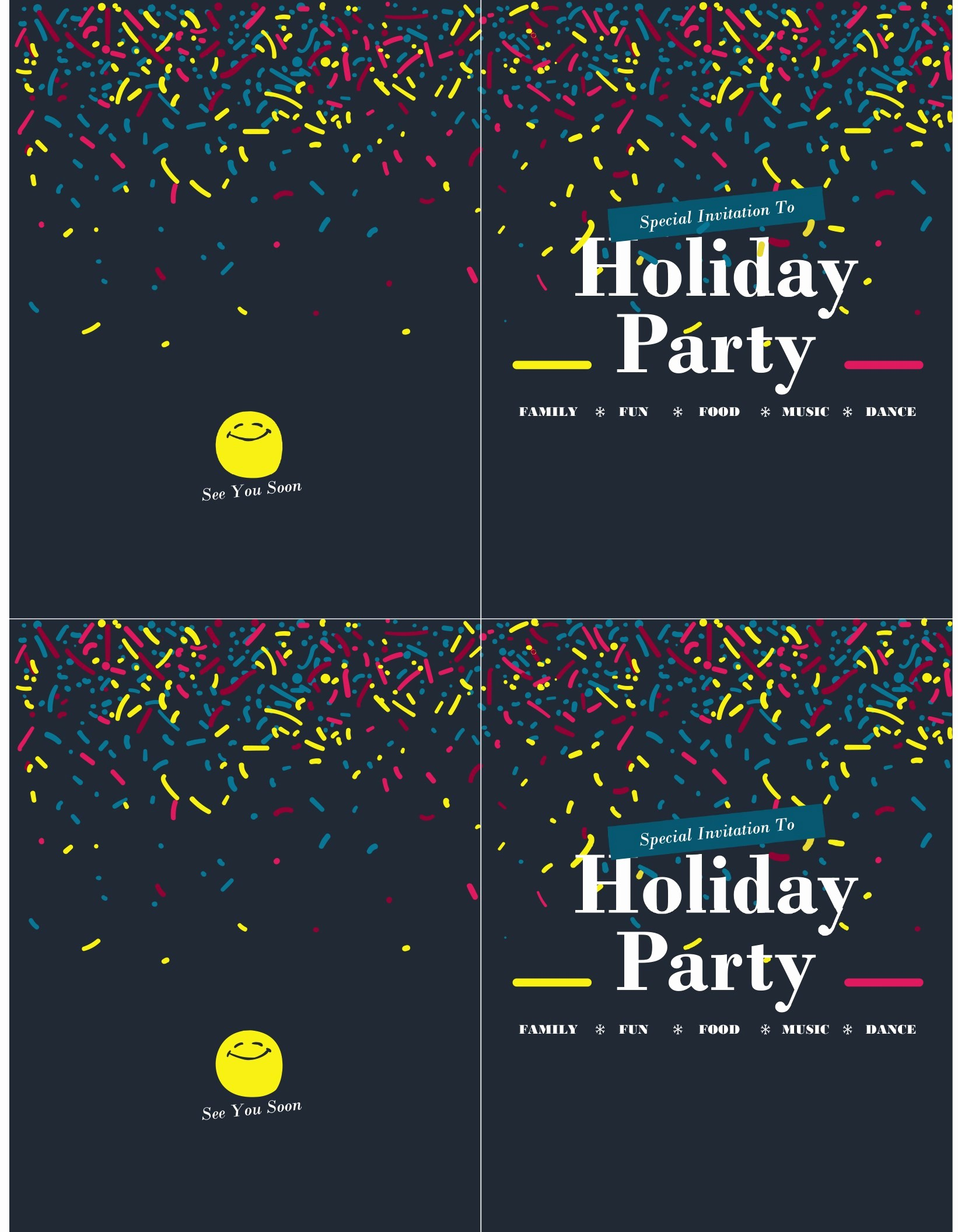 Open Office Birthday Card Template Awesome Invitations Fice