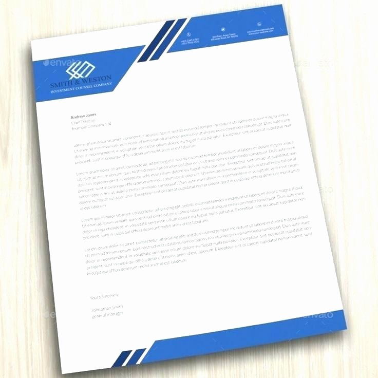 Open Office Business Letter Templates Awesome Pany Letterhead Business Corporate Letter Head format