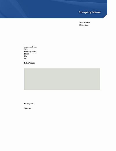 Open Office Business Letter Templates Elegant Business Letter Template Open Fice