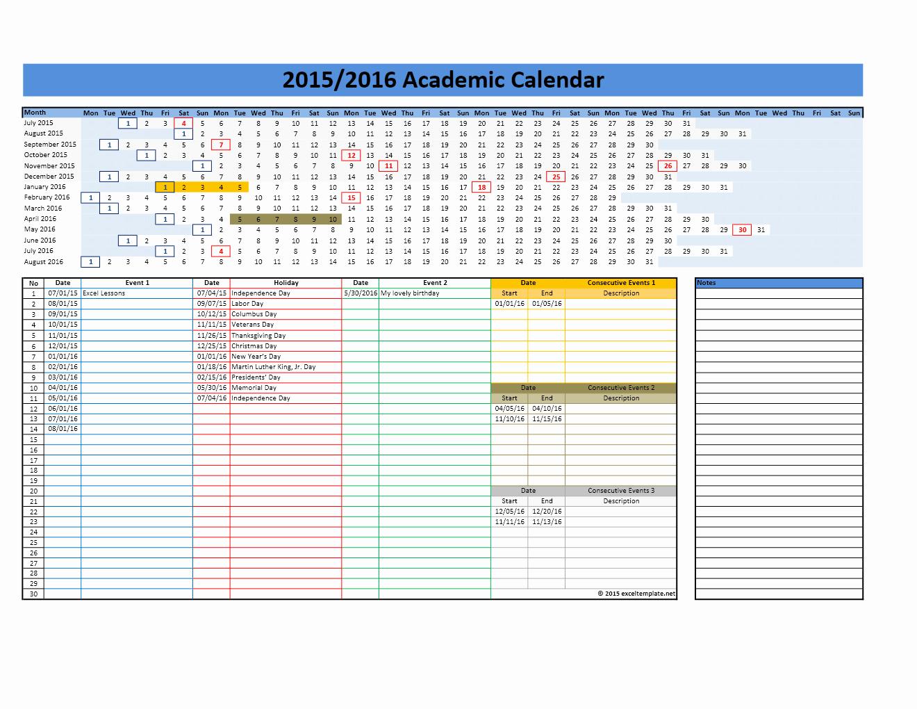 Open Office Calendar Template 2016 Beautiful Linear Calendar Template 2016