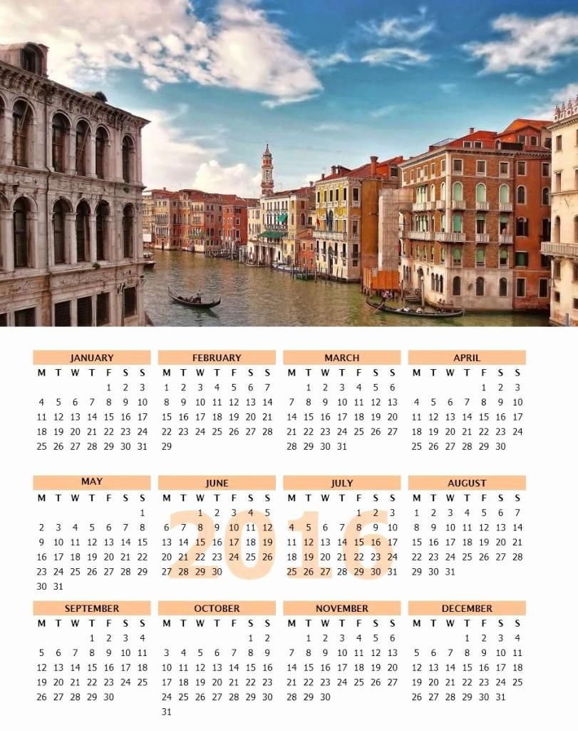 Open Office Calendar Template 2016 Best Of 2016 Calendar Templates