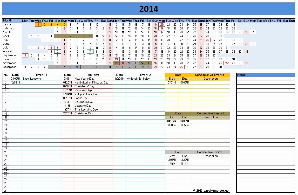Open Office Calendar Template 2016 Elegant Calendar Template 2014 Excel