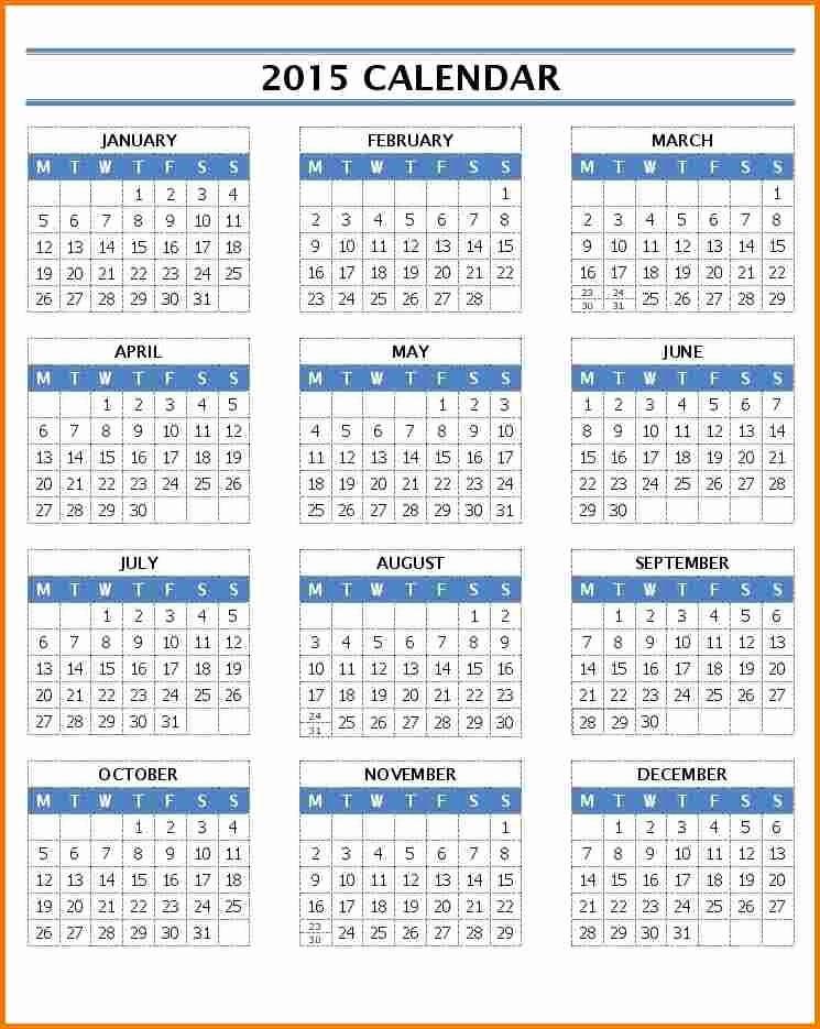 Open Office Calendar Template 2016 Inspirational Microsoft Office Calendar Templates 2015
