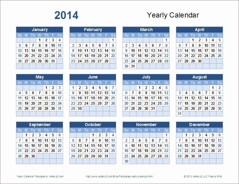 Open Office Calendar Template 2016 New Yearly Calendar Template 2014