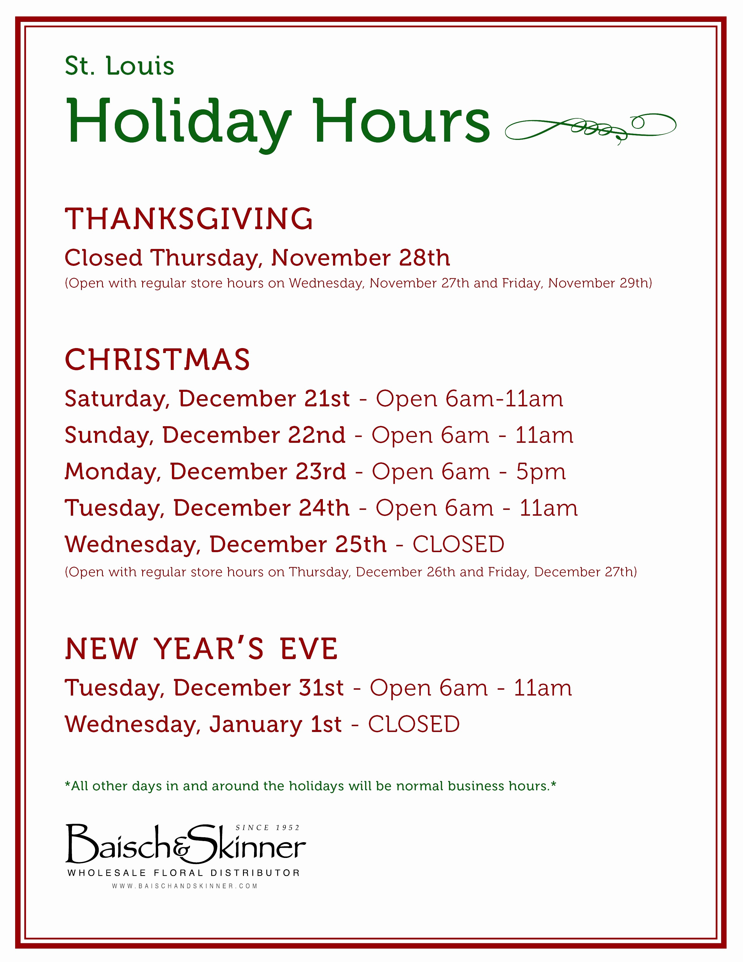 Opening Hours Template Microsoft Word Best Of Holiday Hours Template