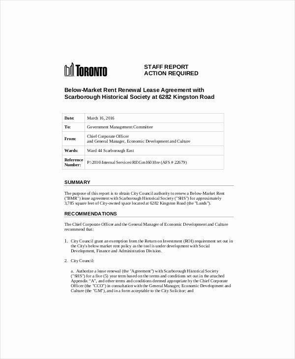 Option to Extend Lease Letter Beautiful Lease Renewal Template 5 Free Word Pdf Documents