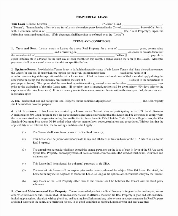 Option to Extend Lease Letter Luxury Lease Renewal Letter