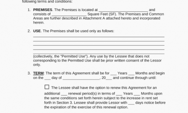 Option to Renew Lease form Elegant Mercial Lease Extension Letter Mercial Lease