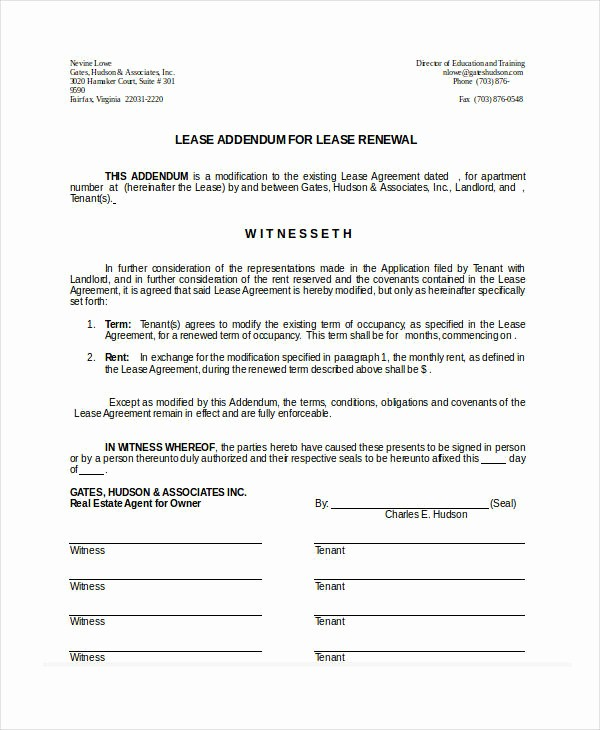 Option to Renew Lease form Lovely Rental Renewal form Mercial Property Month to Month